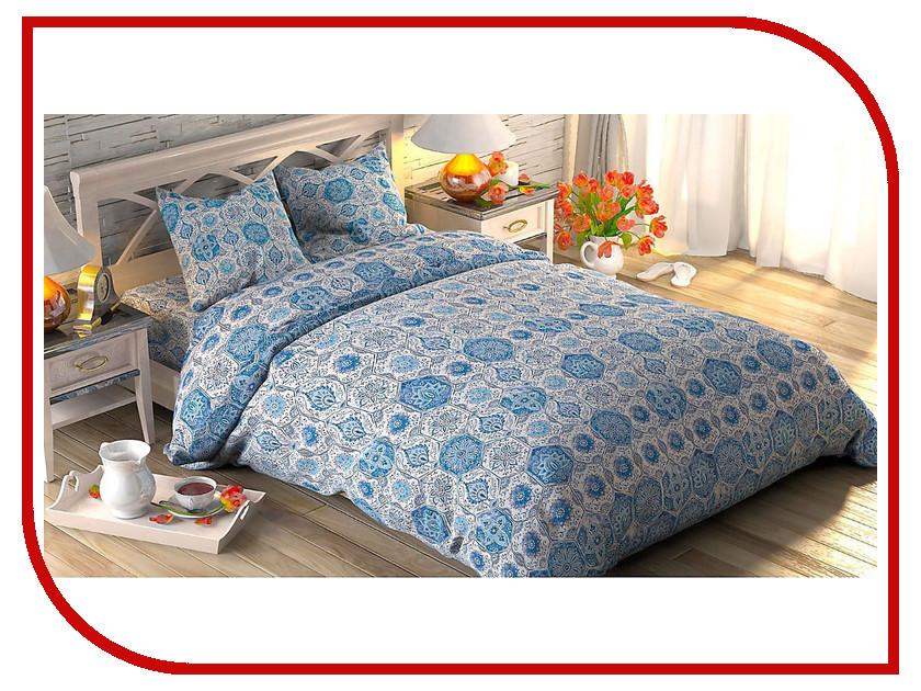 Постельное белье Этель Майолика Комплект 2 спальный Поплин 1534693