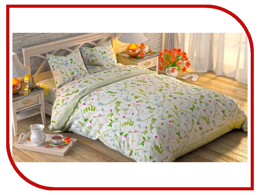 Постельное белье Этель Полевые цветы Комплект 2 спальный Поплин 1972259
