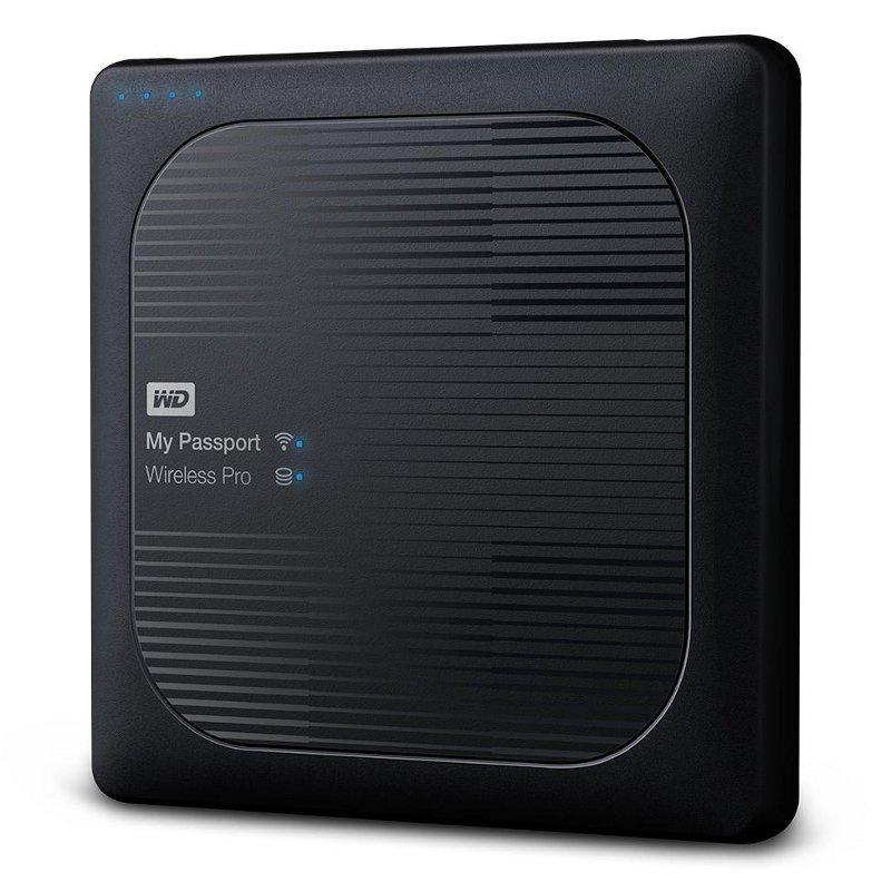 Фото - Жесткий диск Western Digital My Passport Wireless Pro 1Tb WDBVPL0010BBK-RESN жесткий диск western digital my passport