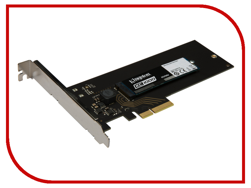 Жесткий диск 240Gb - Kingston KC1000 SKC1000H/240G жесткий диск 240gb patriot hellfire ph240gpm280ssdr