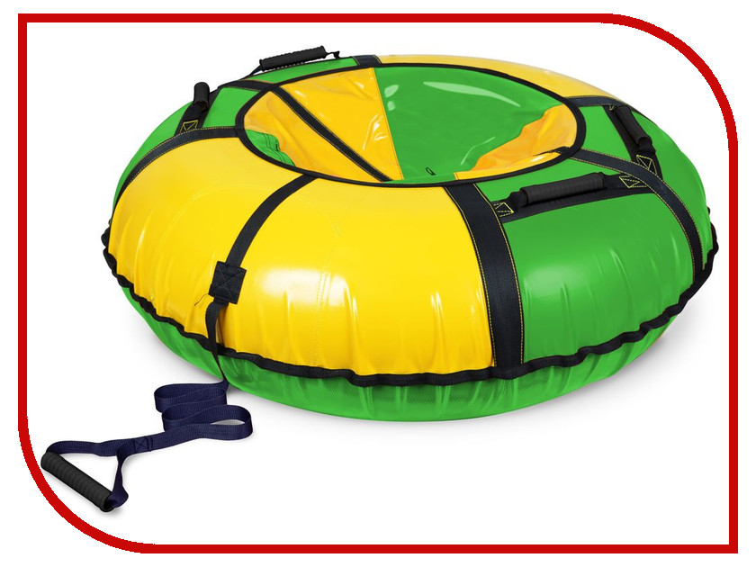 Тюбинг Nika ТБ1К-110 Green-Yellow тюбинг 110 см болид 76