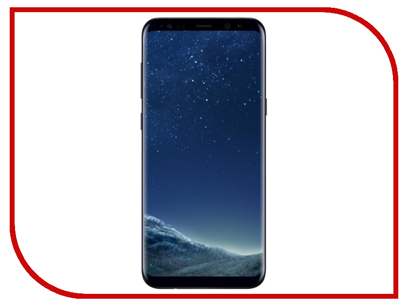 Сотовый телефон Samsung Galaxy S8+ 128Gb Black сотовый телефон samsung sm g955fd galaxy s8 plus 64gb black