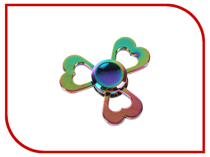 Спиннер Aojiate Toys Finger Spinner Сердце RV615 tri fidget hand spinner triangle metal finger focus toy adhd autism kids adult toys finger spinner toys gags