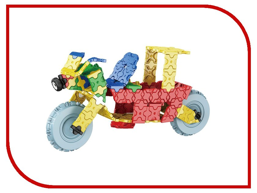 3D-пазл Toy Toys Мотоцикл 207 деталей TOTO-007