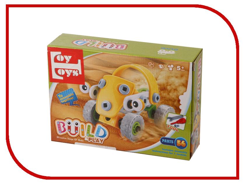 Конструктор Toy Toys Пустынная машина 56 деталей TOTO-017 2 645 017