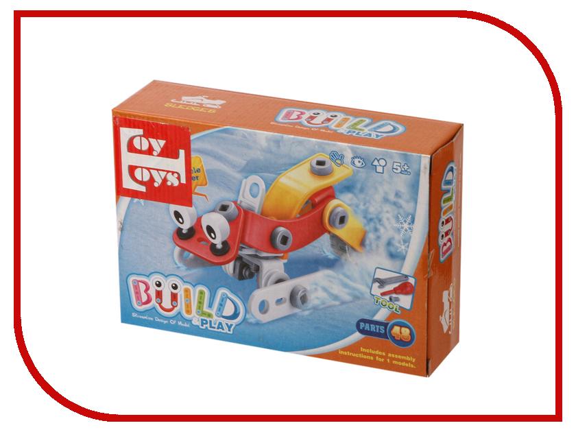 Конструктор Toy Toys Снегоход 48 деталей TOTO-014 леска salmo team tournament nylon 150 014 ts4913 014