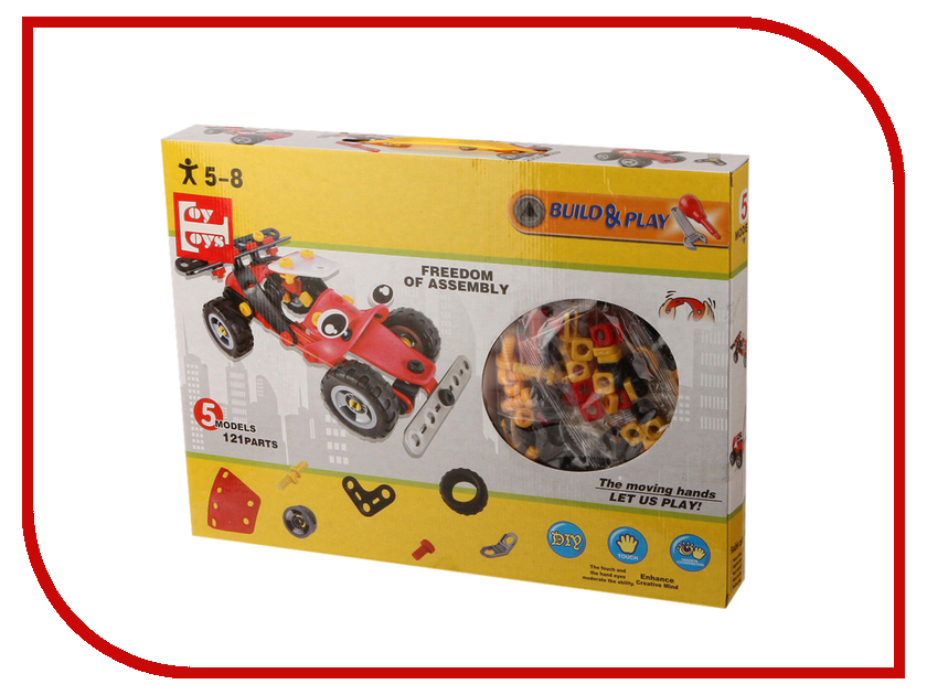 Конструктор Toy Toys Гоночная Машина 121
