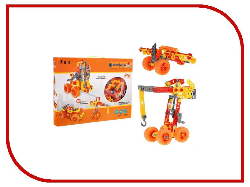 Конструктор Toy Toys Техника 122 детали TOTO-037 конструктор cyber toy cybertechnic 2 в 1 303 детали 7781