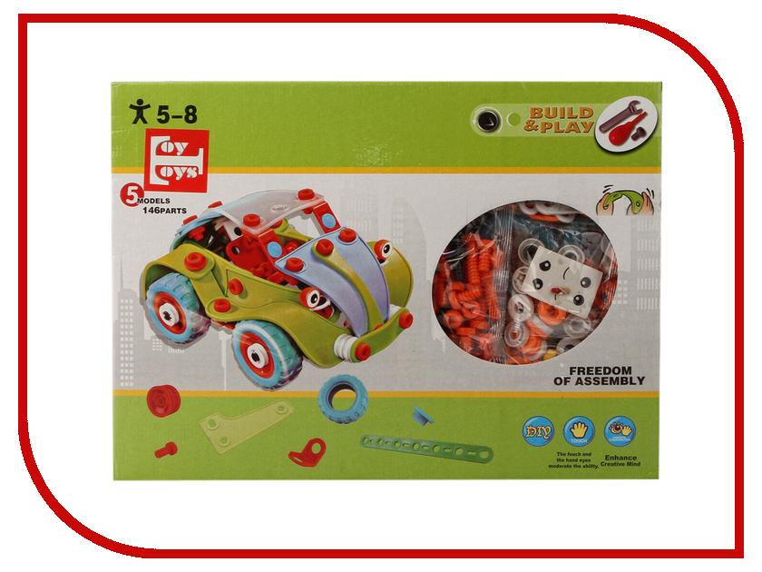 цены Конструктор Toy Toys Транспорт 146 деталей TOTO-036