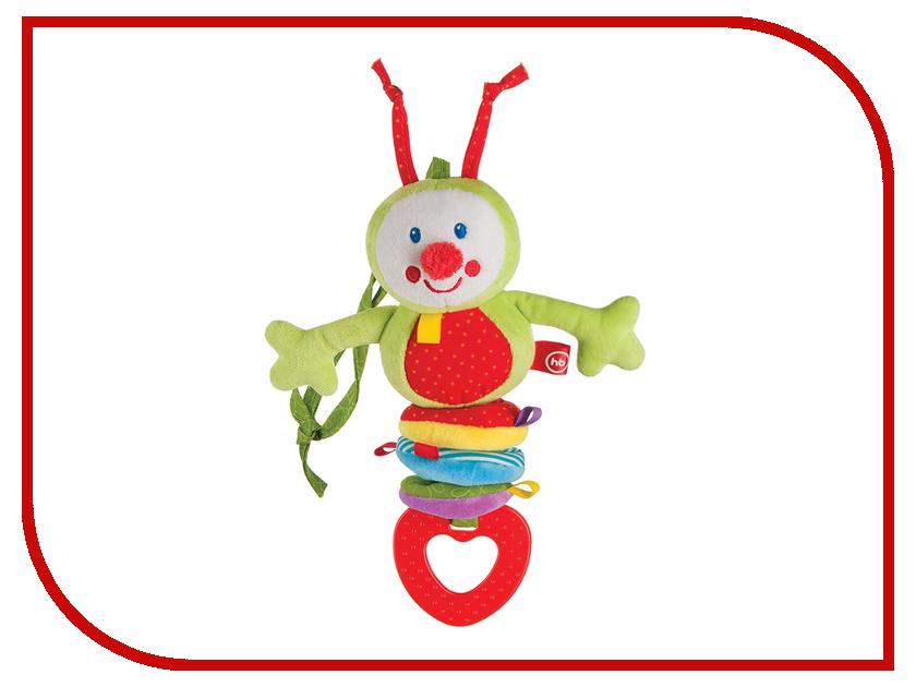 погремушки Подвесная игрушка-растяжка Гусеница  Погремушка Happy Baby Гусеница 330344
