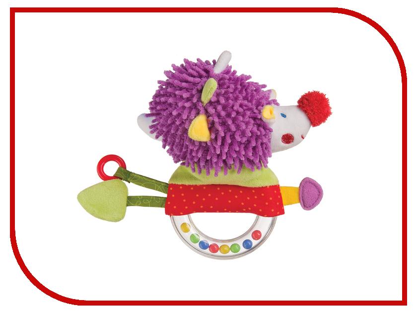 Игрушка Happy Baby Погремушка с пищалкой Ёж 330356 happy baby погремушка прорезыватель музыкальная от 3 мес