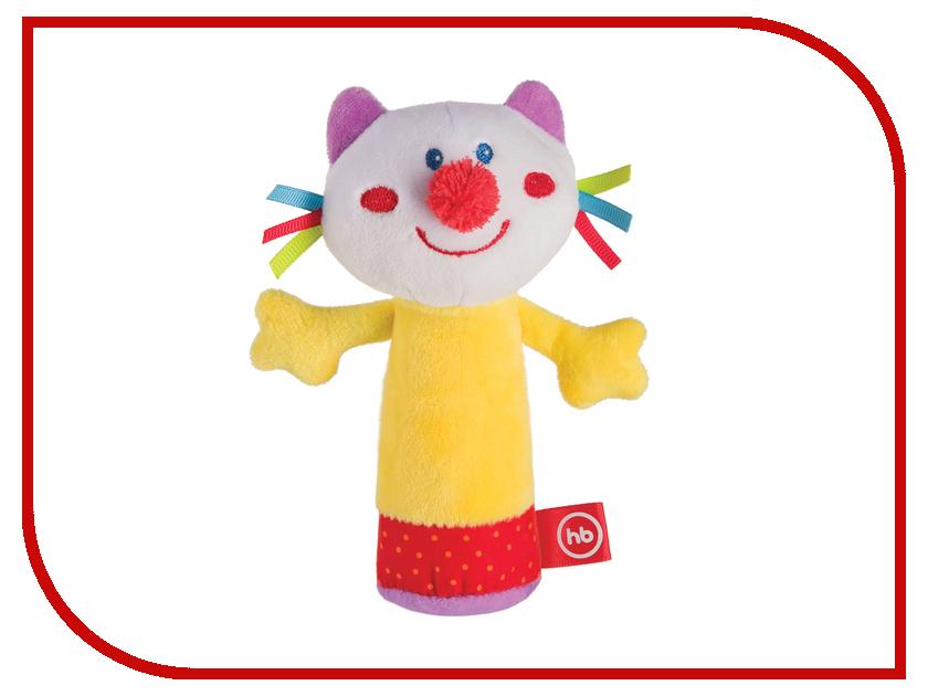 Погремушка Happy Baby 330358 Кот с пищалкой