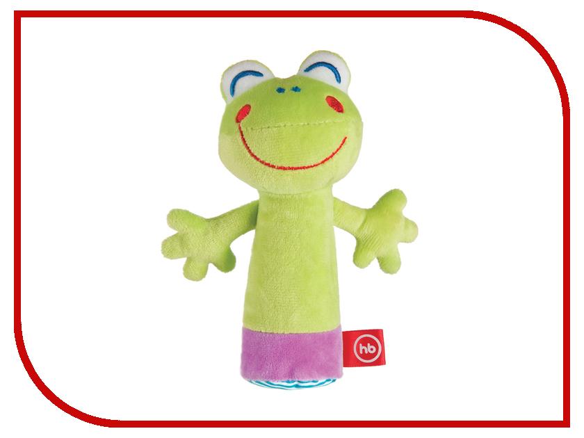 Погремушка Happy Baby Лягушка с пищалкой 330359