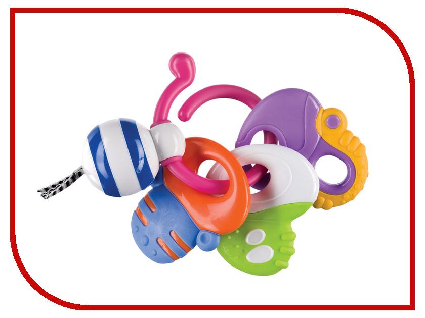 Игрушка Happy Baby Keys Of Fun Погремушка-прорезыватель 330058 happy baby погремушка прорезыватель umkas с 3 мес