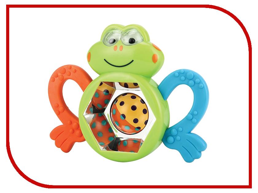 Игрушка Happy Baby Погремушка прорезыватель Веселый лягушонок Frogus 330303 happy baby погремушка прорезыватель umkas с 3 мес