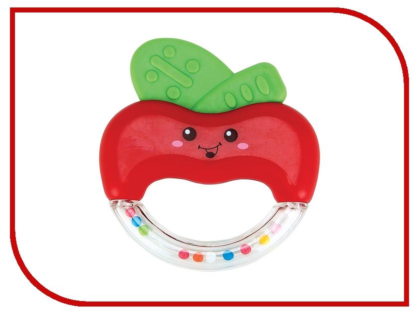 Игрушка Happy Baby Погремушка прорезыватель Яблочко Apple Fun 330305 прорезыватели happy baby музыкальная погремушка прорезыватель слоненокjumbo