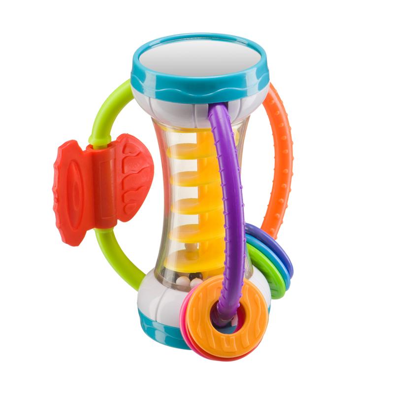 Прорезыватель Happy Baby 330309 Spiralium игрушка погремушка happy baby chatty caterpillar
