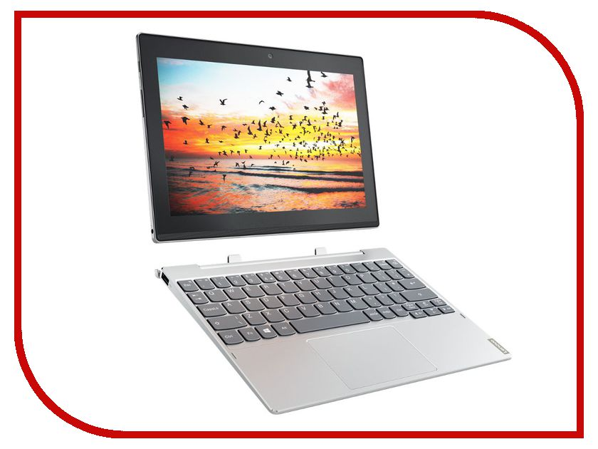 Планшет Lenovo MiiX 320-10ICR 80XF007VRK (Intel Atom x5-Z8350 1.44 GHz/4096Mb/64Gb/LTE/3G/Wi-Fi/Bluetooth/Cam/10.1/1920x1080/Windows 10 64-bit) планшет prestigio multipad grace 3118 pmt31183gccis black mediatek mt8321 1 2 ghz 1024mb 8gb wi fi bluetooth cam 8 0 1280x800 android