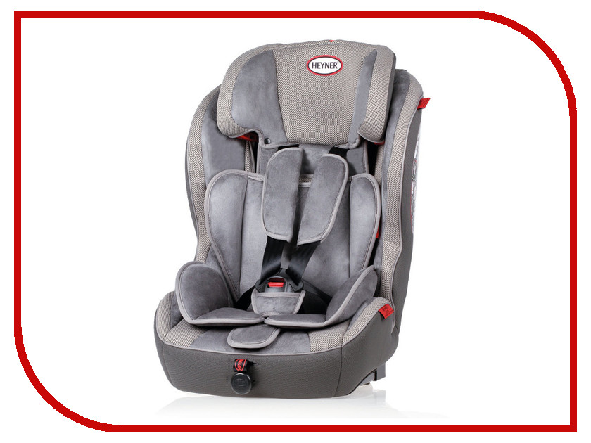 Автокресло HEYNER MultiRelax AERO FIX ISOFIX Koala Grey 798 120 автокресло heyner safeup xl fix grey 783 210