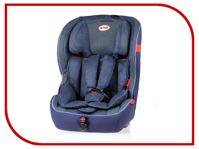 Автокресло HEYNER MultiRelax AERO FIX ISOFIX Cosmic Blue 798 140 автокресло heyner safeup xl fix grey 783 210
