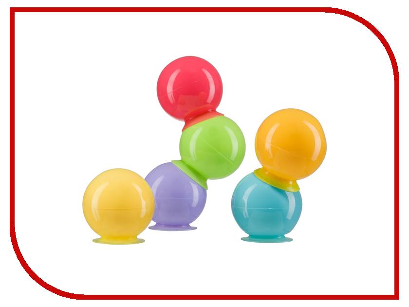 Игрушка Happy Baby 32017 Шарики на присосках IQ-Bubbles развивающая игрушка happy baby iq caterpillar