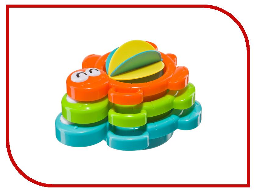 Игрушка Happy Baby 330070 Складные формочки для ванны Aqua Turtles игрушки для ванны happy baby книжка игрушка aquarium