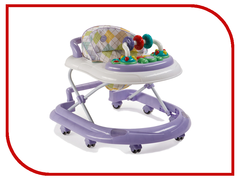 Ходунки Happy Baby Smiley V2 Lilac 4650069783169 автокресло happy baby skyler v2 grey 4690624020858