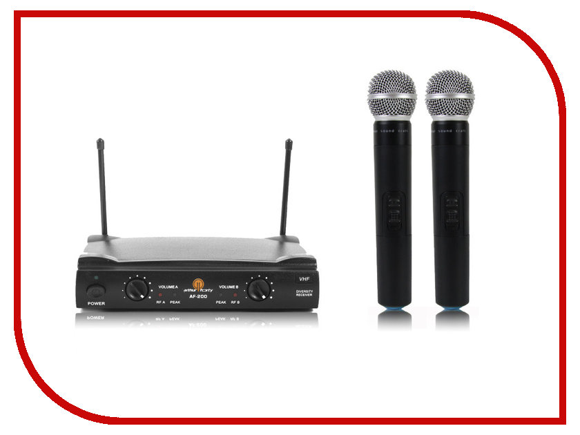 Радиосистема Arthur Forty PSC VHF AF-200 L5 / R5