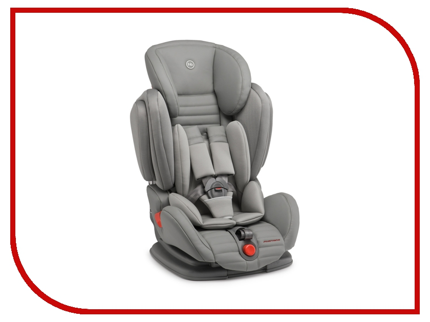Автокресло Happy Baby Mustang Gray 4690624016714 happy baby автокресло skyler 0 13 кг happy baby