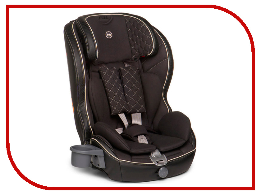 Автокресло Happy Baby Mustang Isofix Black 4650069780311
