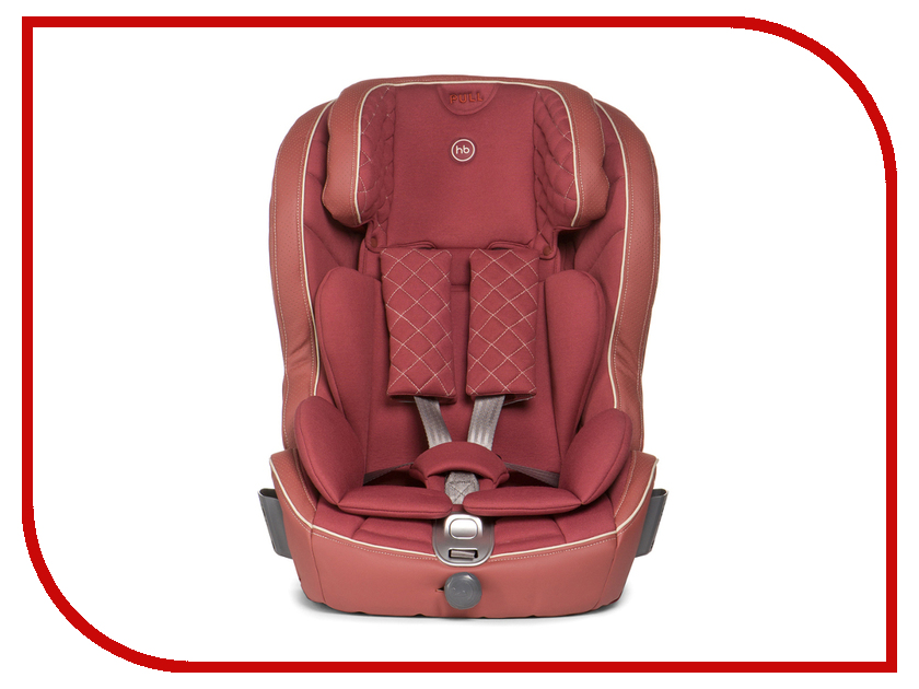 Автокресло Happy Baby Mustang Isofix Bordo 4650069780342 автокресло happy baby mustang isofix black 4650069780311