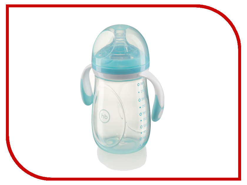 Бутылочка Happy Baby 300ml Light Blue 10009