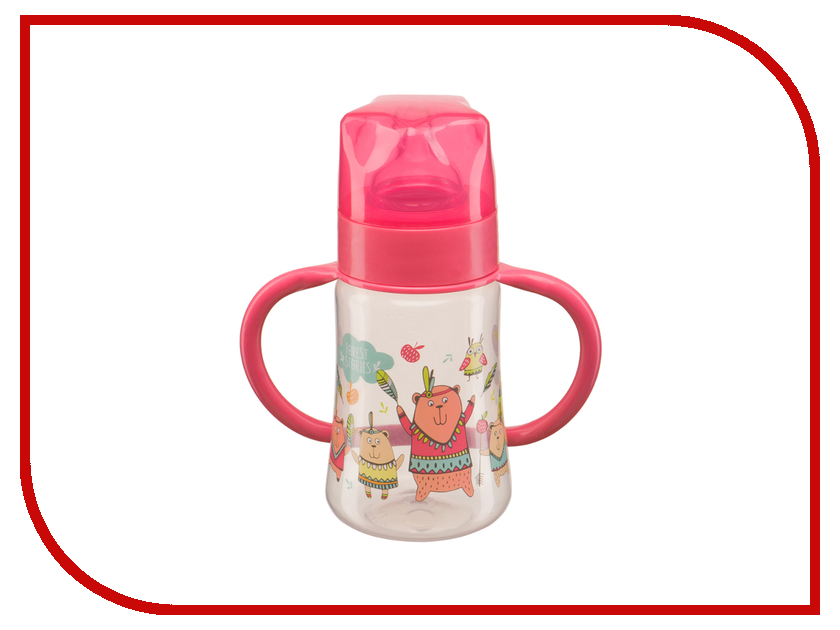 Бутылочка Happy Baby Baby Bottle 250ml Red 10008
