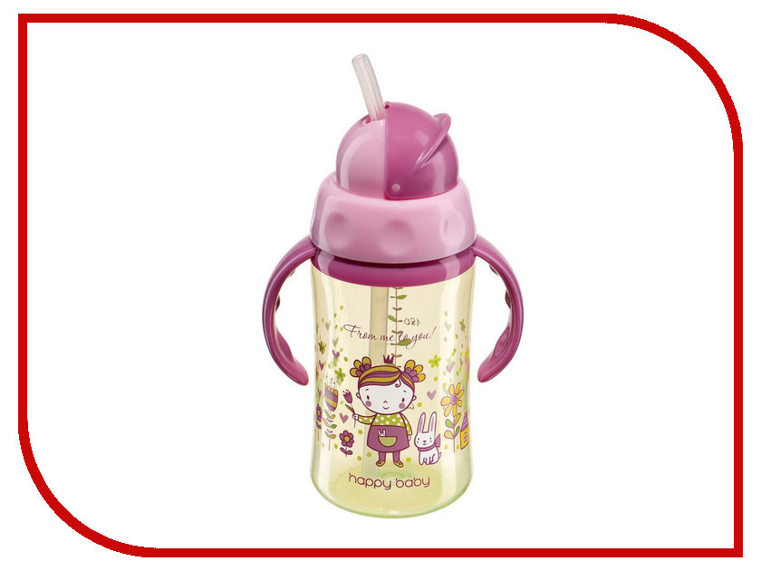Поильник Happy Baby Feeding Cup Red 14004