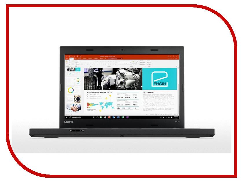 Ноутбук Lenovo ThinkPad L470 20J4003CRT (Intel Core i3-7100U 2.4 GHz/4096Mb/500Gb/No ODD/Intel HD Graphics/Wi-Fi/Bluetooth/Cam/14.0/1366x768/DOS) неттоп asus vivopc vm42 s031m sl 90ms00b1 m00310 intel celeron 2957u 1 4 ghz 4096mb 500gb intel hd graphics wi fi bluetooth dos