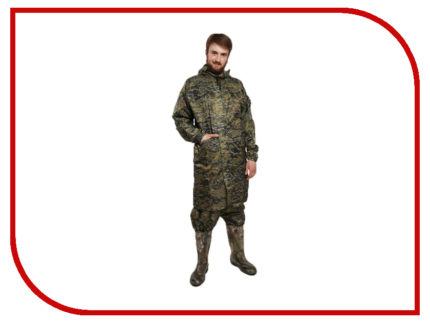 Плащ-дождевик Vostok Турист 4.101 р.48 Пиксель томск куплю палатку турист полог где