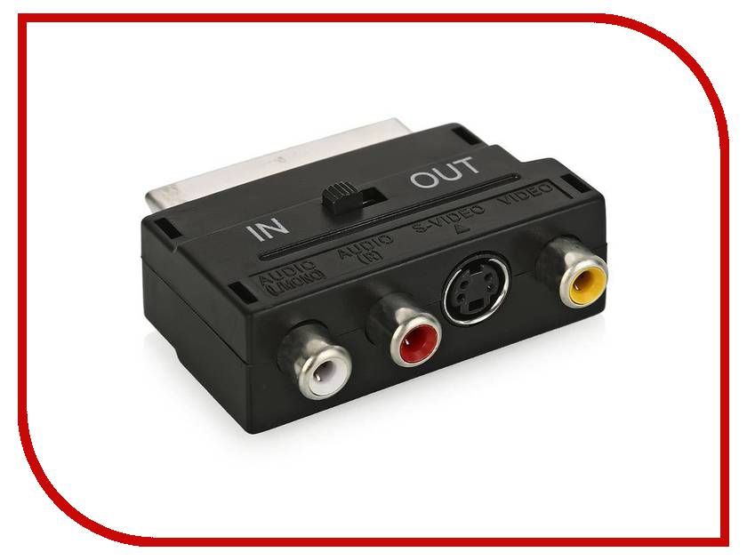 Фото Аксессуар Nexport SCART - 3 RCA /S-Video NP-A-SC\R\SV аксессуар nexport f m 10m black np tvm tvf rbb 10