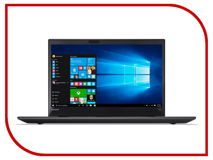 Ноутбук Lenovo ThinkPad T570 20H9004ERT (Intel Core i5-7200U 2.5 GHz/8192Mb/1000Gb/Intel HD Graphics/Wi-Fi/Bluetooth/Cam/15.6/1920x1080/Windows 10 64-bit) майка print bar undying minimal