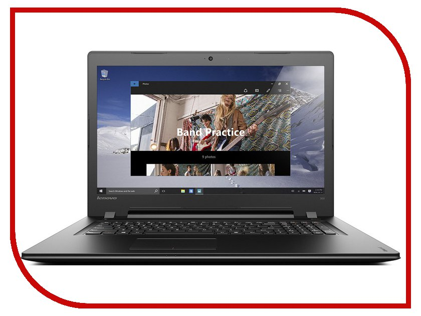 Ноутбук Lenovo 300-17ISK 80QH00FCRK (Intel Core i3-6100U 2.3 GHz/8192Mb/1000Gb/DVD-RW/AMD Radeon R5 M330 2048Mb/Wi-Fi/Bluetooth/Cam/17.3/1600x900/Windows 10 64-bit) ноутбук lenovo ideapad 320 17 80xm000nrk intel core i3 7100u 2 4 ghz 8192mb 500gb dvd rw nvidia geforce 920mx 2048mb wi fi bluetooth cam 17 3 1600x900 windows 10 64 bit