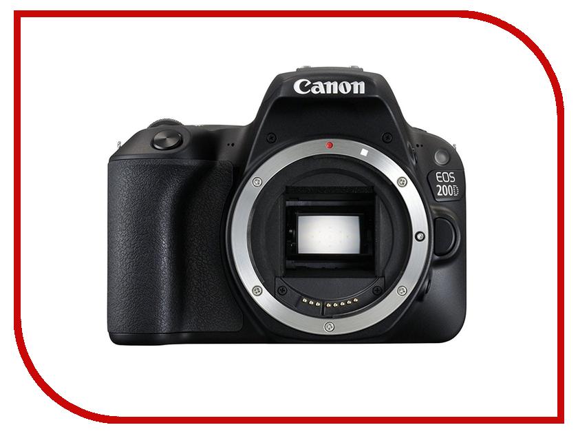 Фотоаппарат Canon EOS 200D Body Black фотоаппарат canon eos 100d body black