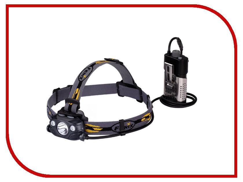 Фонарь Fenix HP30R Cree XM-L2 Black налобный фонарь fenix hp30r cree xm l2 xp g2 r5 черный