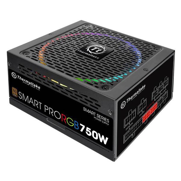 Блок питания Thermaltake Smart Pro RGB 750W PS-SPR-0750FPCBEU-R