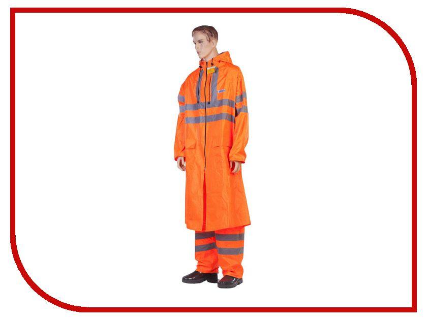 Плащ-дождевик Water Proofline Extra-Vision р.56-58/182-188 Orange