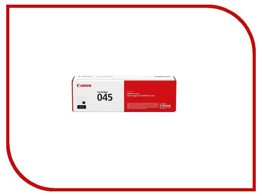 Картридж Canon 045 BK 1242C002 Black картридж canon kp 108in 3115b001
