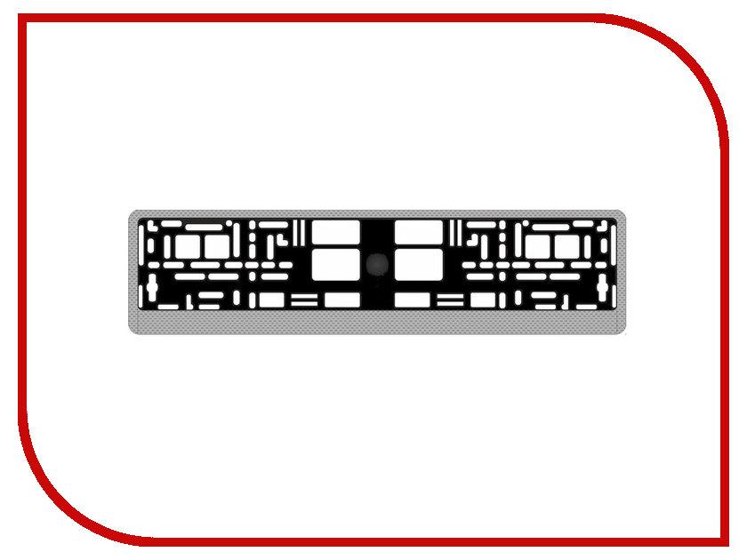 Купить Рамка номерного знака AVS RN-05 Carbon A78107S