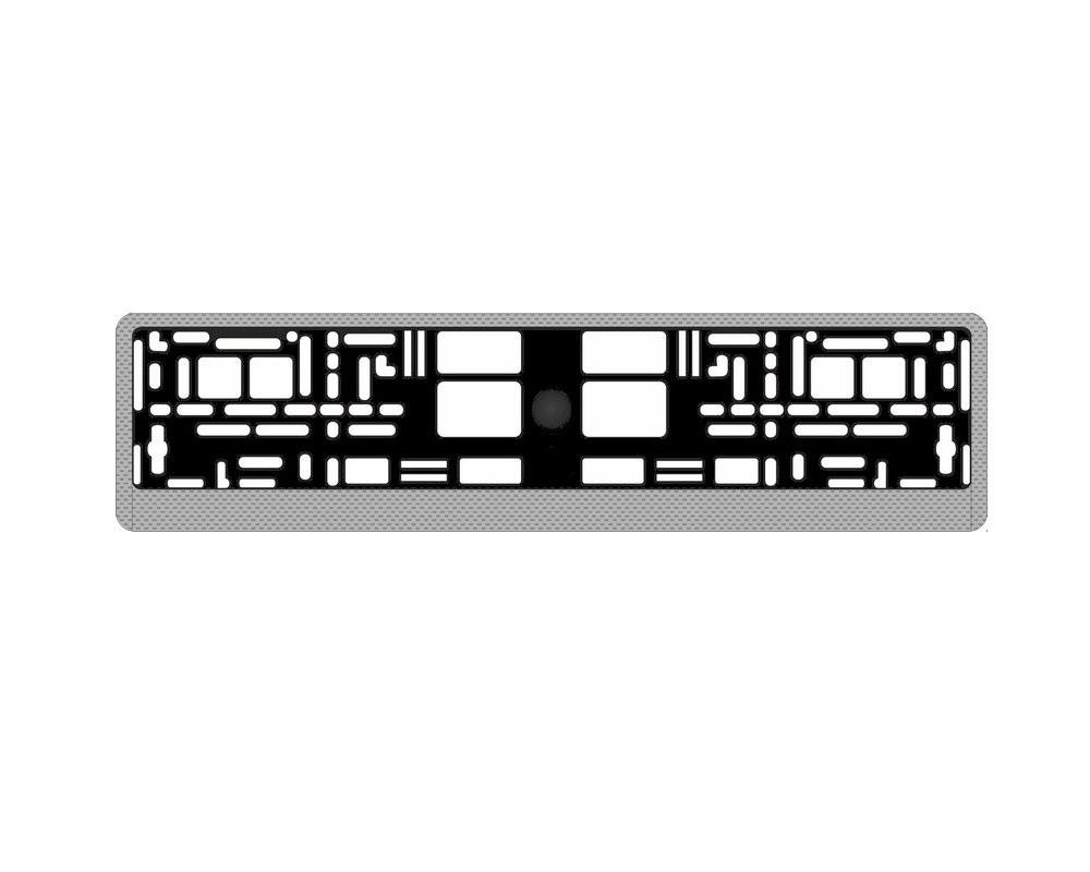 Рамка номерного знака AVS RN-05 Carbon A78107S