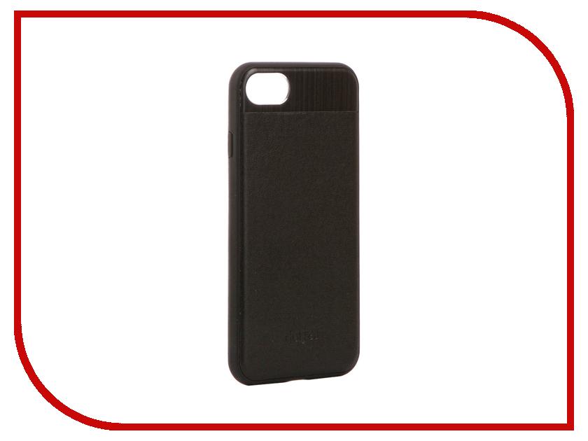 Аксессуар Чехол-накладка Dotfes G03 Aluminium Alloy Nappa Leather Case для APPLE iPhone 7 Black 47088