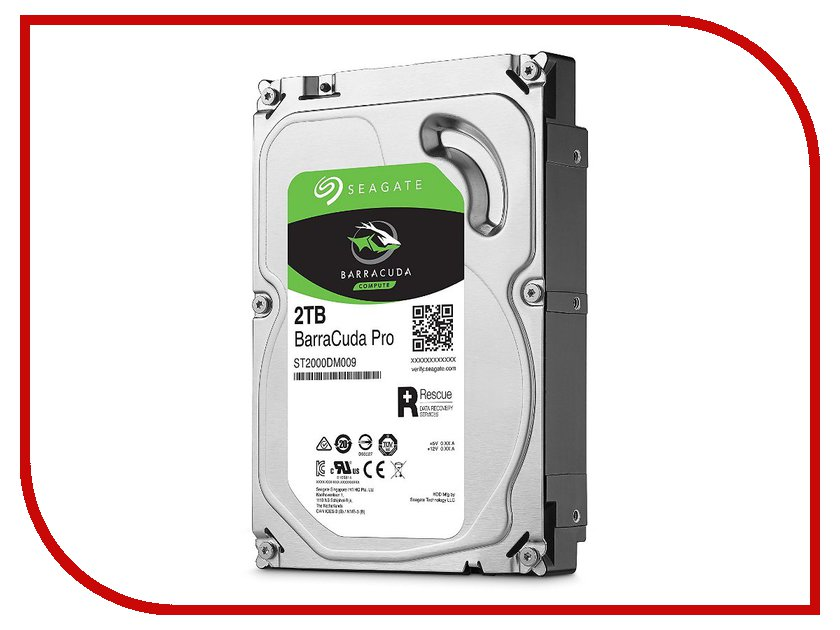 Жесткий диск 2Tb - Seagate Barracuda Pro ST2000DM009 2tb seagate barracuda st2000dm001