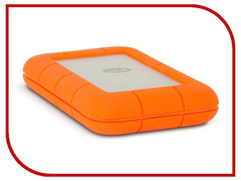 Жесткий диск LaCie Rugged Thunderbolt USB-C 1Tb STFS1000401 съемный жесткий диск lacie rugged usb3 thunderbolt 2tb