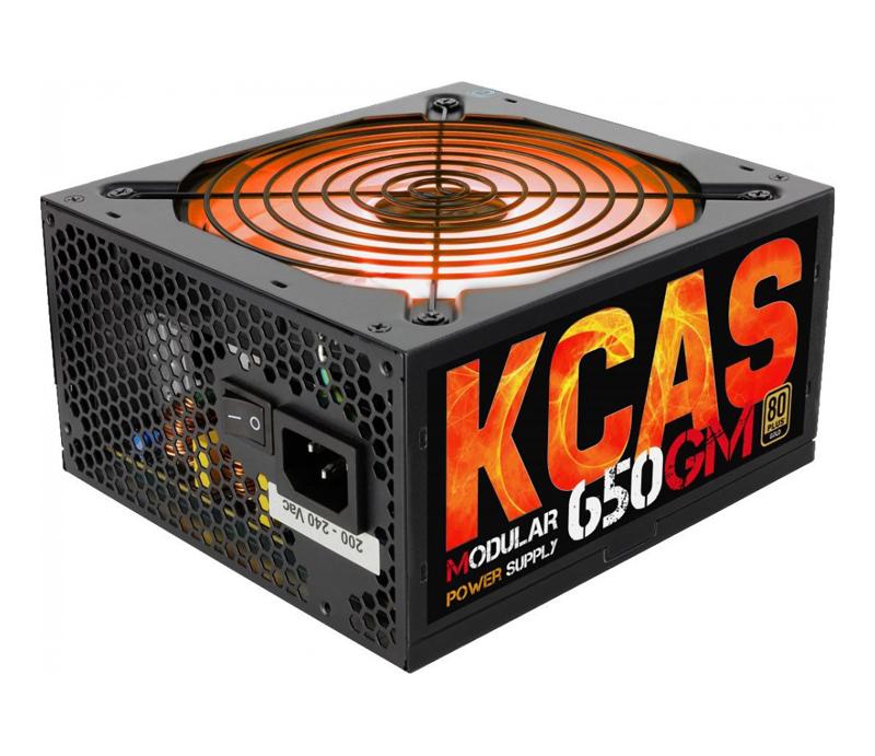 Блок питания AeroCool KCAS-650GM RGB 650W